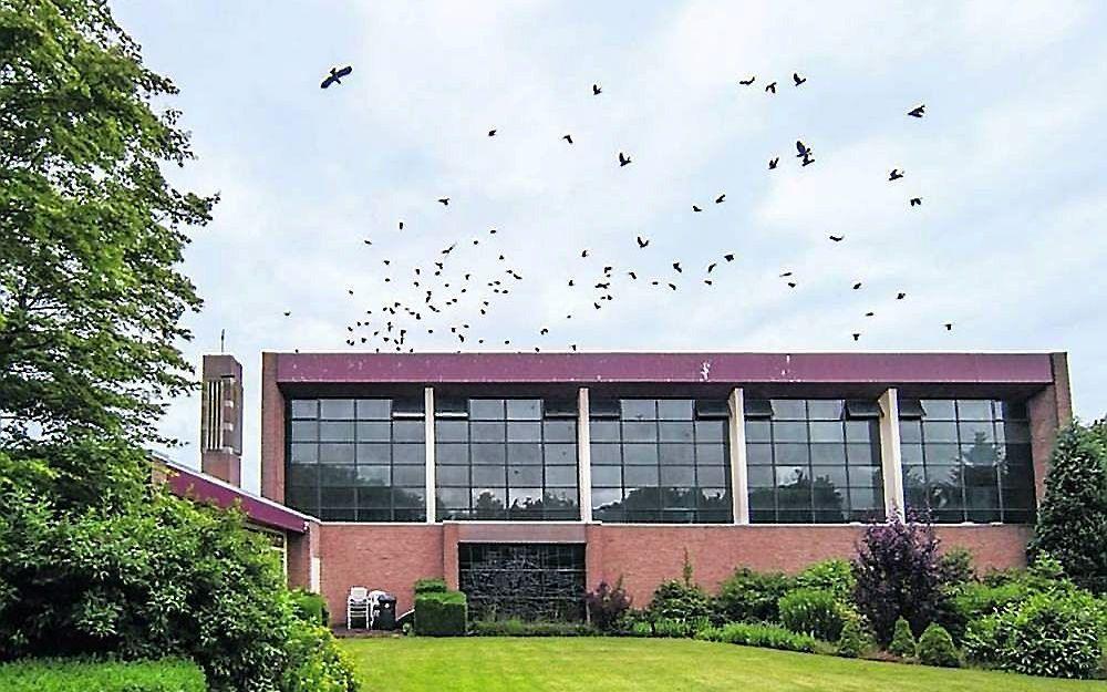 De christelijke gereformeerde Verrijzeniskerk in Zwolle. beeld Frans Paalman