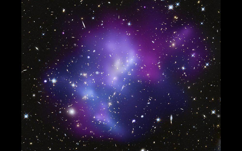 Het heelal is gevuld met onzichtbare virtuele deeltjes die de lichtsnelheid volgens Barry Setterfield verregaand beïnvloeden. Foto NASA