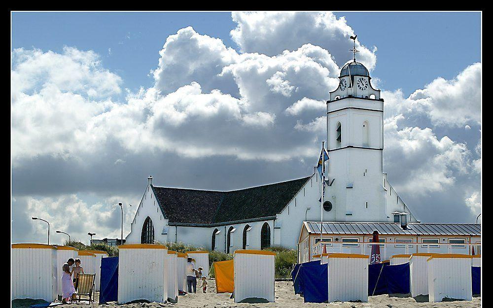 De Andreaskerk in Katwijk voor de restauratie. Foto RD, Henk Visscher