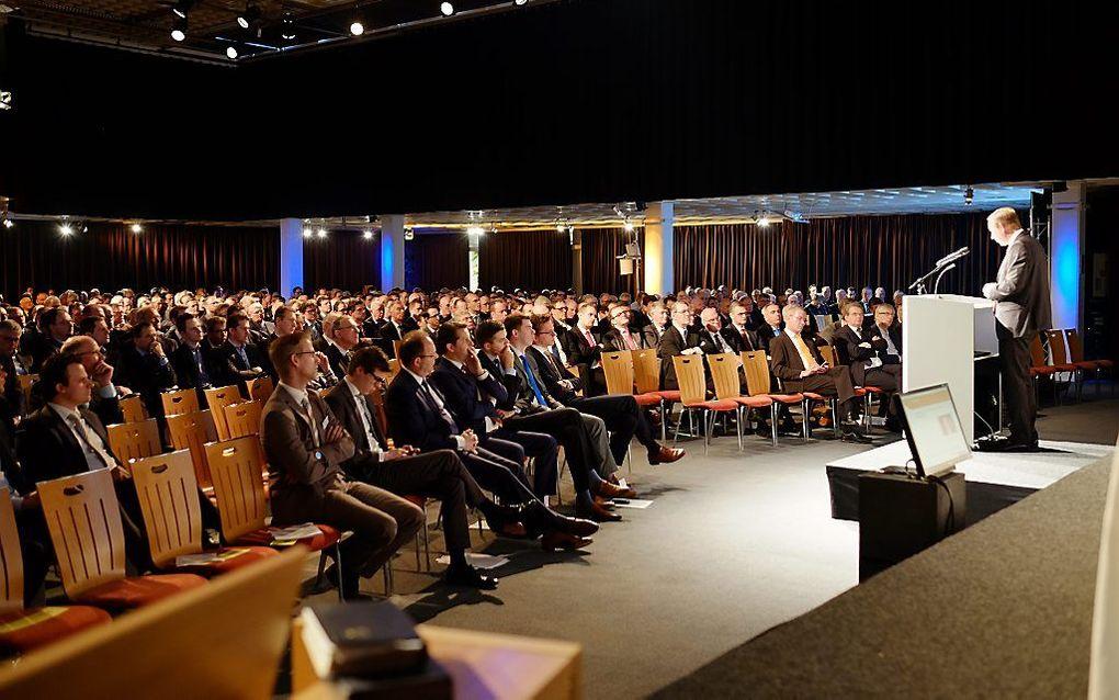 De SGP hield in april in Hoevelaken haar jaarlijkse partijdag. beeld Theo van der Elst