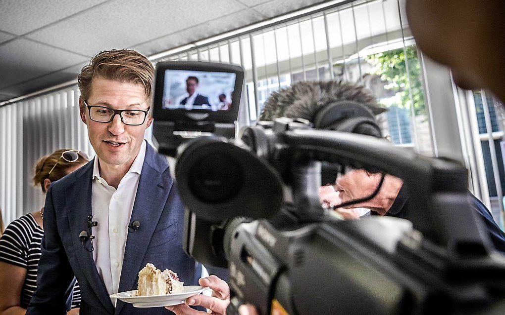 Staatssecretaris Dekker (Onderwijs). beeld ANP, Rob Engelaar