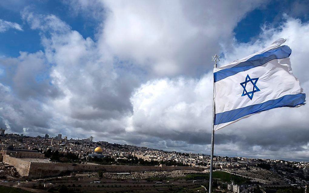 """""""Gods weg met Israël in de geschiedenis onderstreept dat God leeft."""" Foto: Jeruzalem. beeld EPA, Jim Hollander"""