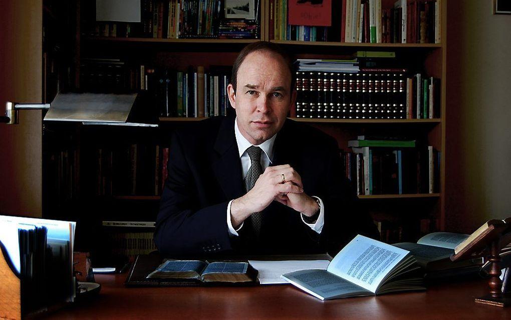 Ds. P. D. J. Buijs. beeld Maarten Buijs
