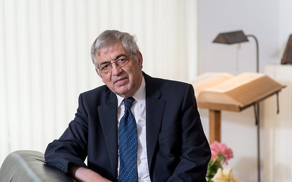 Dr. M. van Campen. beeld Niek Stam