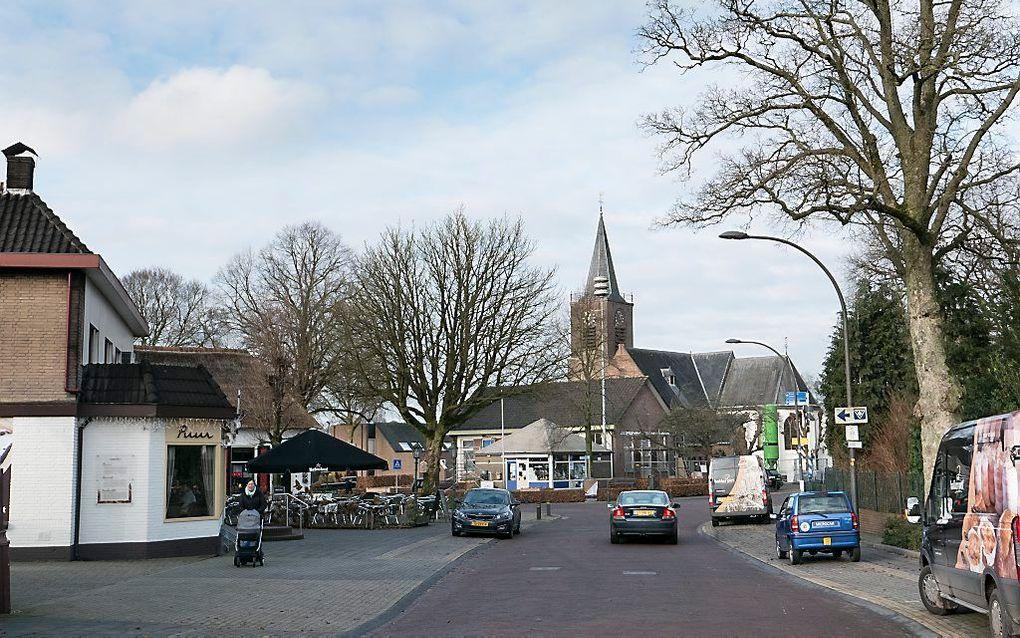Dorpsbeeld van Elspeet, met de hervormde kerk. beeld RD, Anton Dommerholt