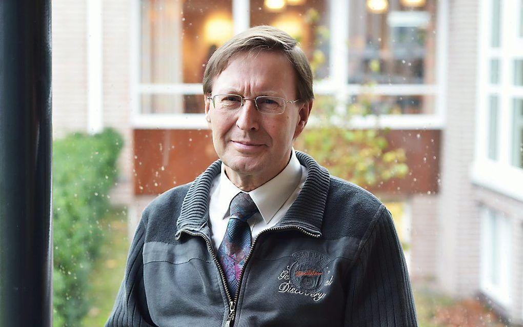 prof. Eric Peels  beeld Peter Leenhouts