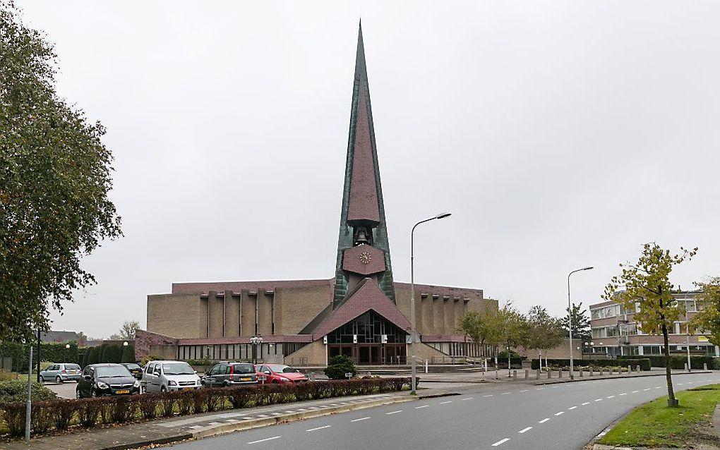 De kerkgebouw van de gereformeerde gemeente in Goes. beeld Sjaak Verboom