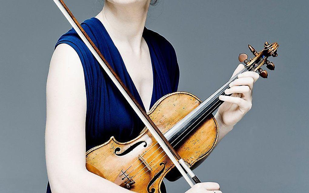 Violiste Maria Milstein. beeld Marco Borggreve