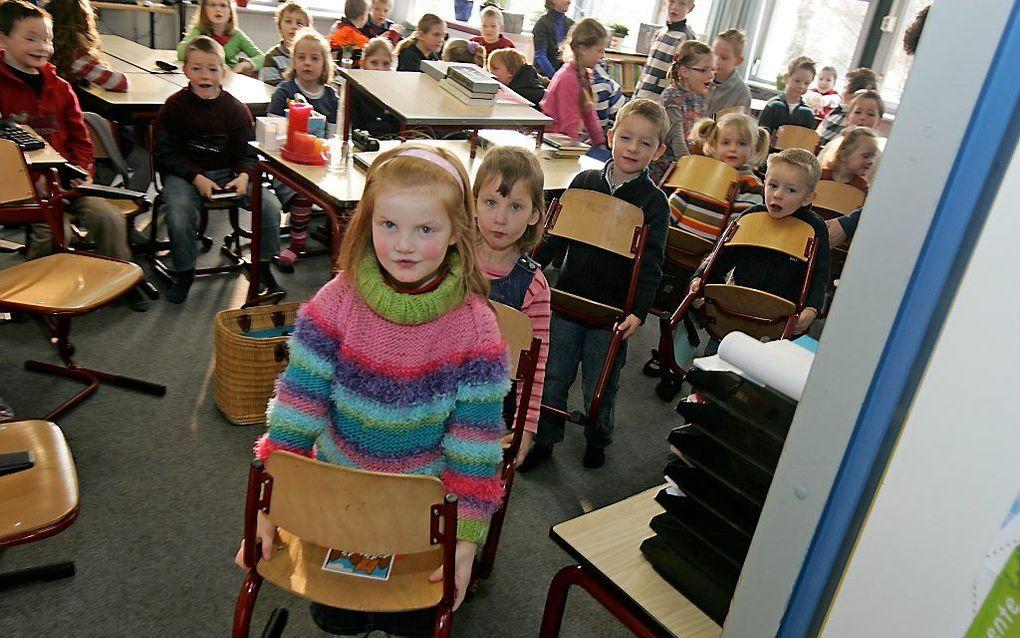 Men kan zich na honderd jaar onderwijsvrijheid afvragen of ouders binnen christelijke kring nog wel voldoende beseffen hoe groot het voorrecht is. beeld RD, Anton Dommerholt