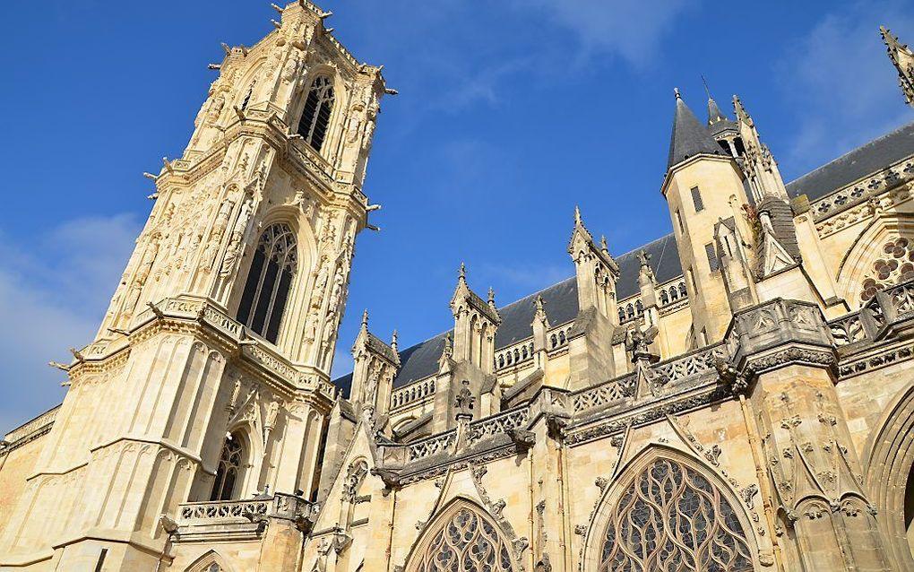 De kathedraal van het Franse Nevers. beeld RD