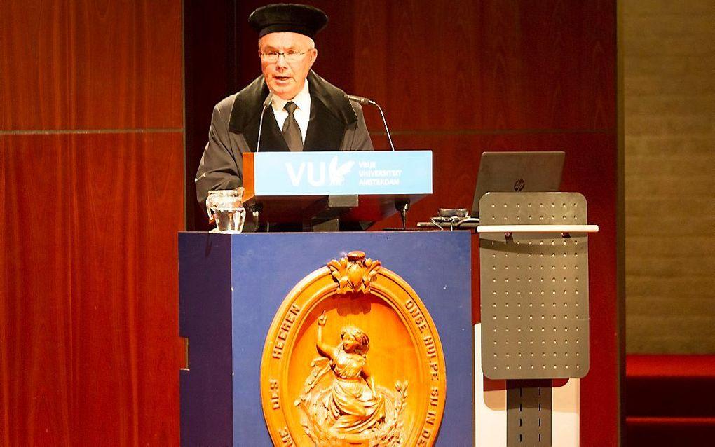 Prof. dr. W. J. op 't Hof. beeld RD, Henk Visscher