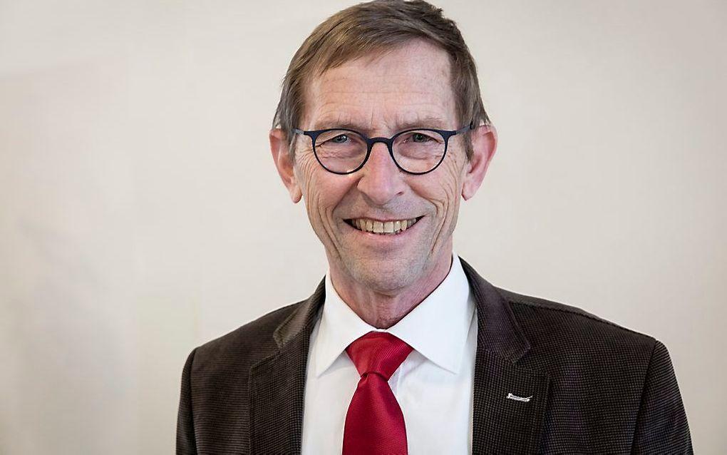 Dr. M. H. Oosterhuis, preses van de GKV-synode van Meppel in 2017. beeld Sjaak Verboom