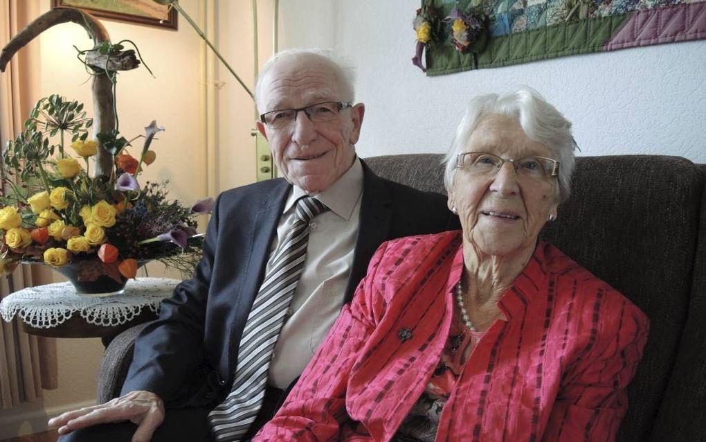 Dr. T. Brienen met zijn echtgenote. beeld RD