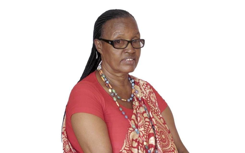 Mama Lambert. beeld stichting Mukomeze