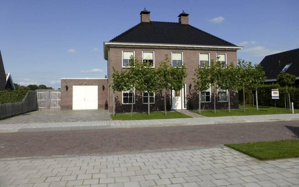In Kruiningen wordt een woning verbouwd en geschikt gemaakt voor een leefgroep van reformatorische jongeren met psychosociale problemen. beeld Stichting Kristal