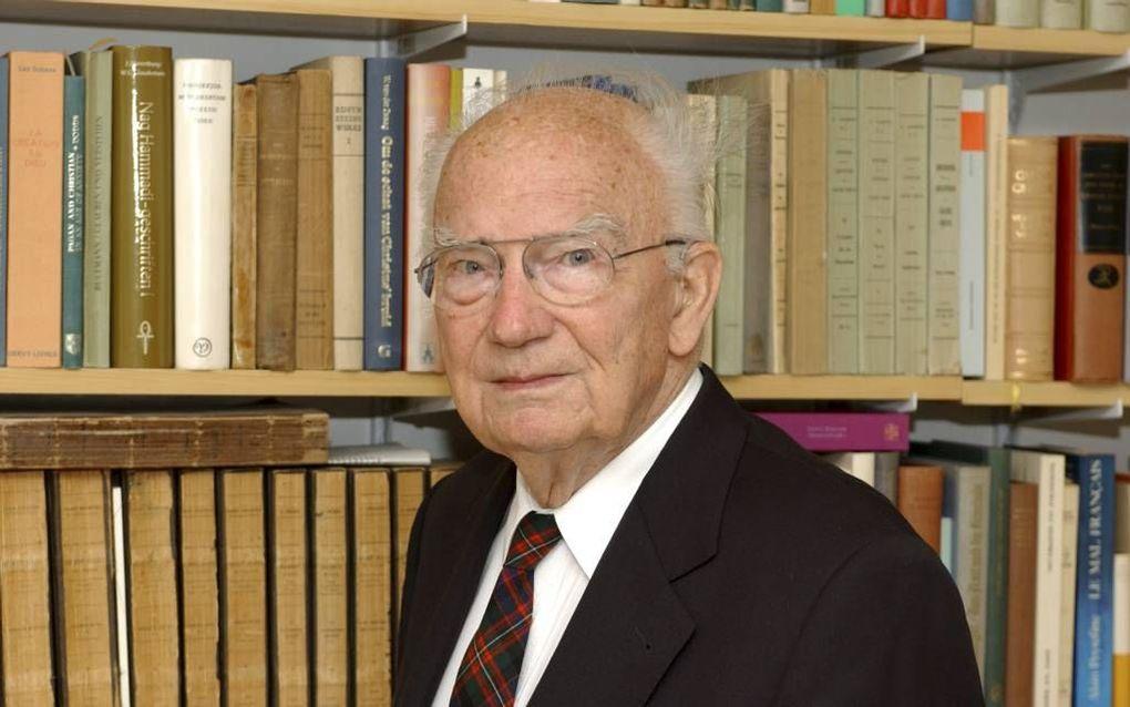 Prof. Jan Hendrik van den Berg.  Foto Wim van Vossen sr.