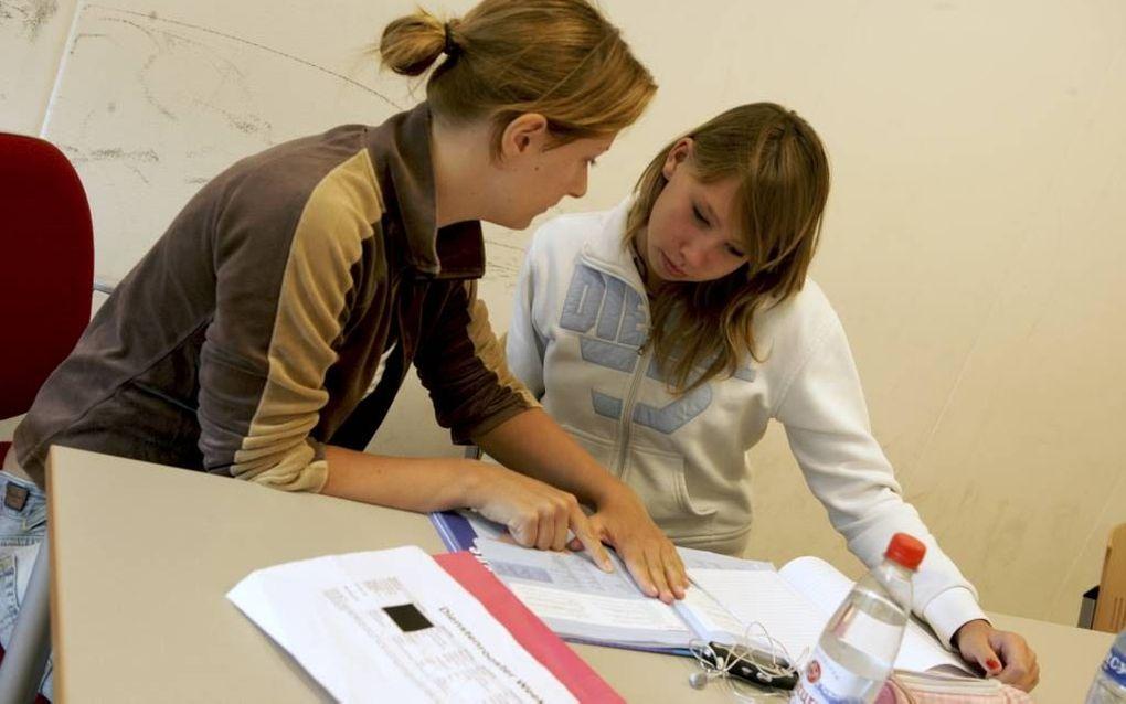 Bijles of zomerschool als alternatief voor een jaar zittenblijven. Foto RD, Sjaak Verboom