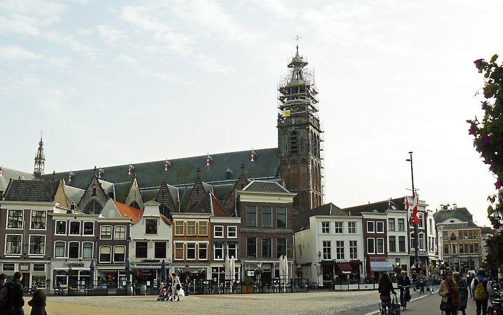 In Gouda start zaterdag het herdenkingsjaar 450 jaar Heidelbergse Catechismus. De Reformatorische Omroep zendt de bijeenkomsten uit op RD.nl. Foto RD