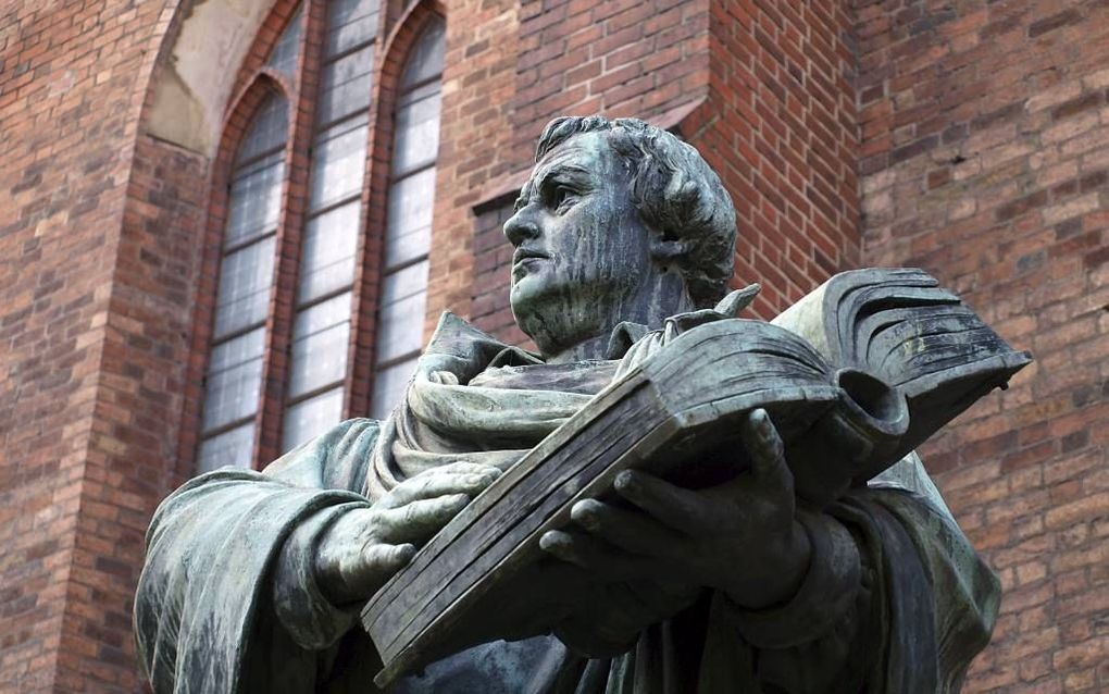 Standbeeld van Luther in Berlijn. Beeld Fotolia