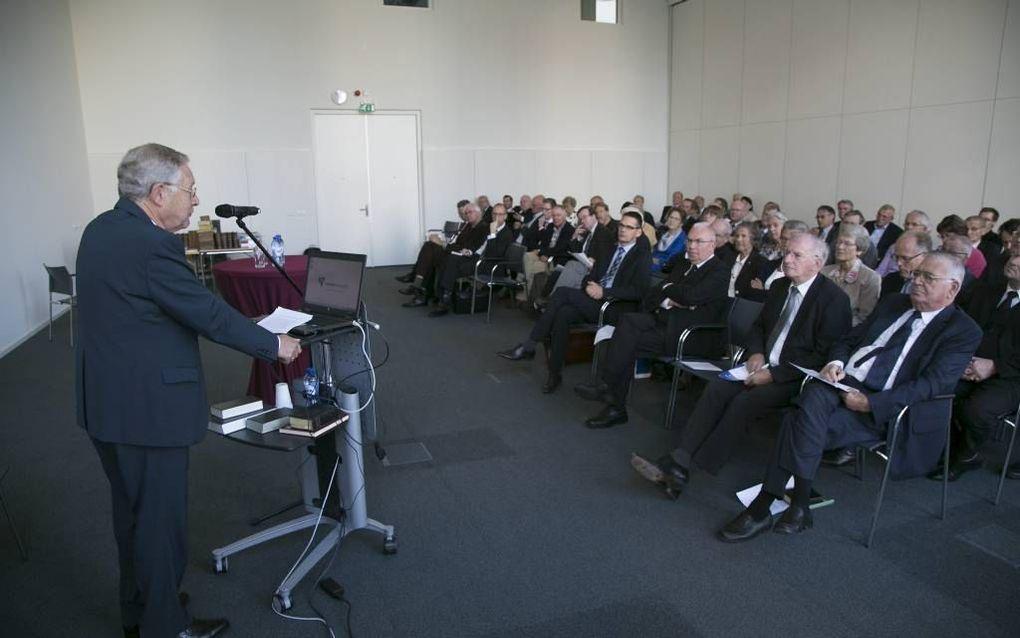 SSNR-bijeenkomst in Gouda. beeld Martin Droog