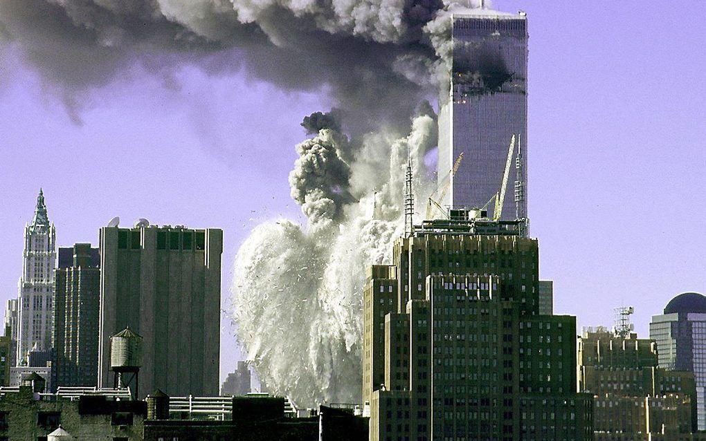11 september 2001: bijna 3000 mensen komen om door een gigantische islamitische terreuraanslag. beeld AFP