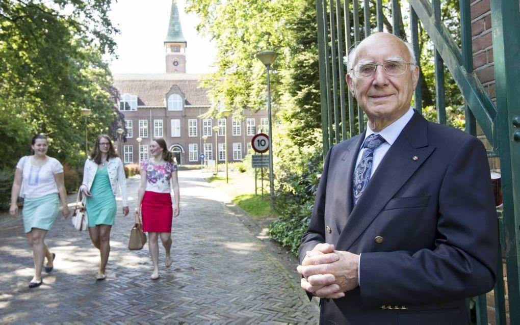 Ir. C. Kok voor het Hoornbeeck College in Amersfoort. beeld RD, Anton Dommerholt