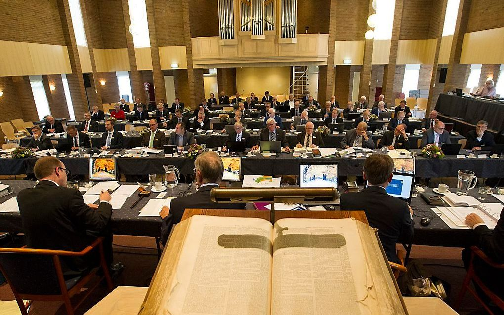 Synode van de CGK. beeld RD, Anton Dommerholt