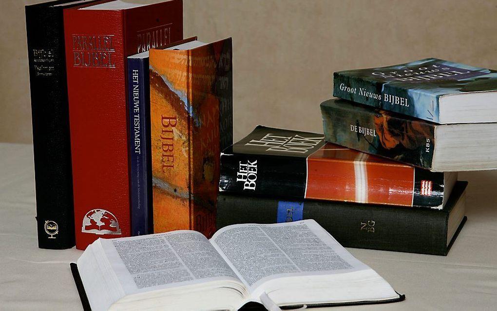 Welke Bijbel we gebruiken, laat zien wat we geloven over Gods spreken in ons leven. beeld RD, Anton Dommerholt