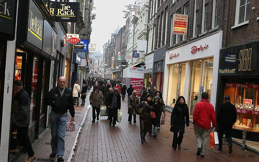 Kalverstraat in Amsterdam. beeld RD, Anton Dommerholt