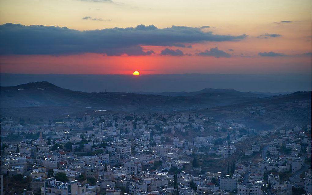 Zicht op Bethlehem. beeld iStock
