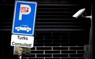 Turks consulaat. beeld ANP, Koen van Weel