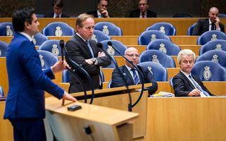 De Kamerleden Kuzu (l.) en Van der Staaij. beeld ANP, Valerie Kuypers