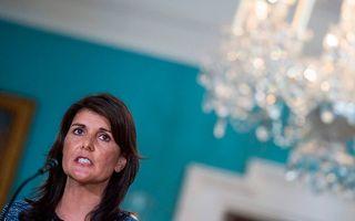 Nikki Haley. beeld AFP