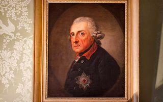 Frederik de Grote. Portret in Potsdam. beeld RD, Henk Visscher