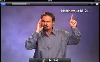 De app Deaf Bible is bedoeld om doven te bereiken met het Evangelie. beeld RD