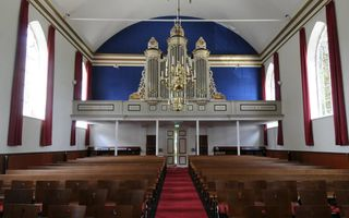 Kerk in Eastermar, De Hege Stins. Beeld Marchje Andringa
