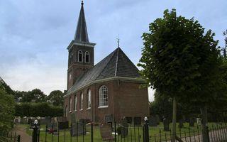 De Sint-Gertrudiskerk van Baard. beeld Wikimedia