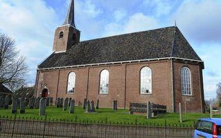 De hervormde kerk te Burum. Beeld Wikimedia