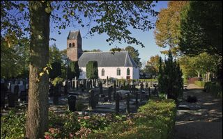 De Dorpskerk Huizum in Leeuwarden.Beeld Marchje Andringa