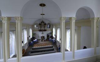 Interieur van de kerk. beeld Marchje Andringa