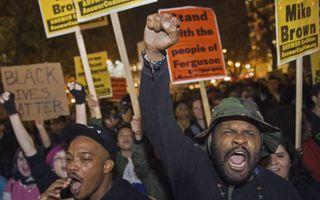 Demonstraties in Washington. beeld AFP