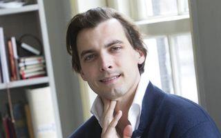 """Publicist dr. Thierry Baudet: """"Ons nationale parlement  moet het laatste woord hebben, niet de Europese Unie."""" beeld RD, Anton Dommerholt"""