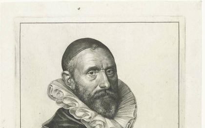 Gravure van Jan Pieterszoon Sweelinck door Jan Harmensz Muller uit 1624.beeld Wikipedia