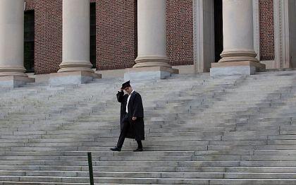 Harvard. beeld EPA, CJ GUNTHER