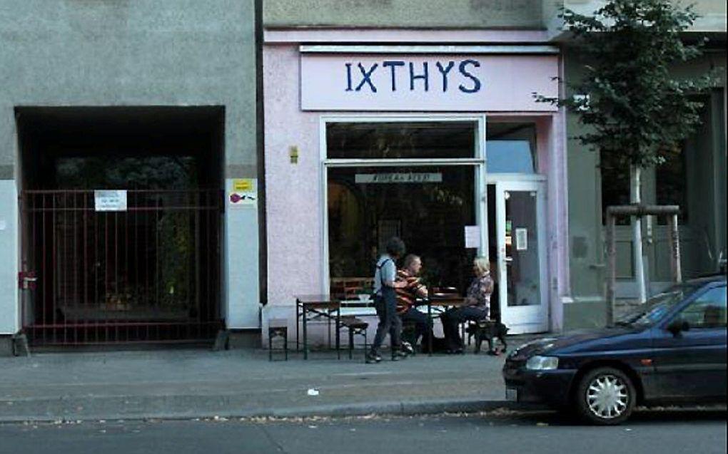 Restaurant Ixthys in de Duitse hoofdstad Berlijn. beeld tripadvisor.nl