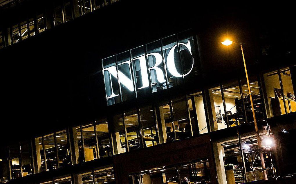 Het NRC-pand in Amsterdam. beeld ANP, Remko de Waal