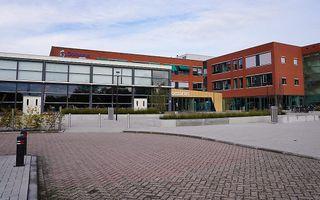 Het pand van de Gomarus Scholengemeenschap in Gorinchem. beeld Gomarus Scholengemeenschap