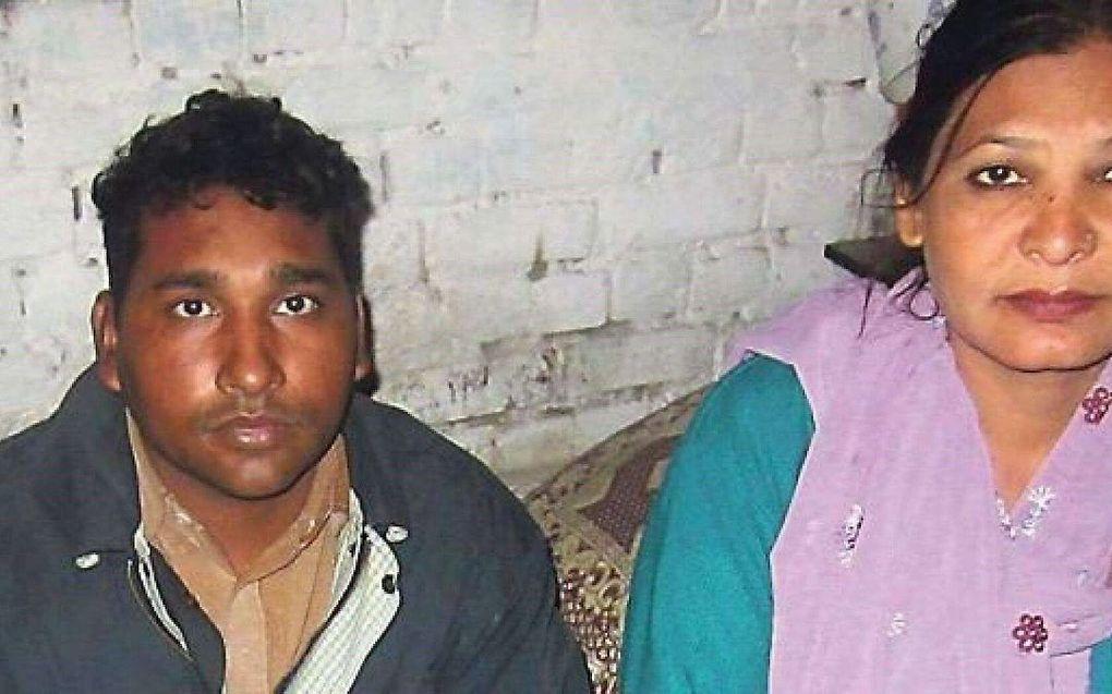 Het christelijke echtpaar Shafqat en Shagufta Emmanuel uit Pakistan komt binnen een paar dagen vrij. beeld RD