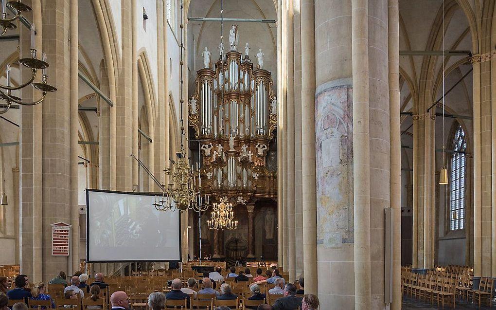 De Bovenkerk in Kampen. beeld Jan-Willem van Braak