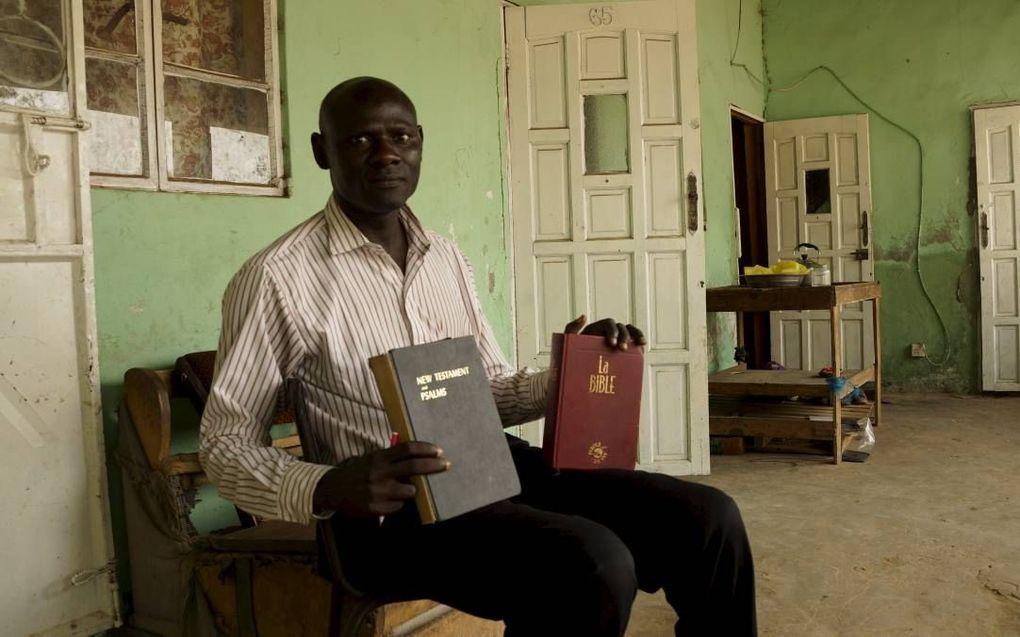 Ds. Jassey heeft plannen voor een opvanghuis in Gambia voor ex-moslims die tot het christendom zijn bekeerd.beeld Lex Rietman
